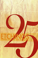 Cover image of Etchings issue 25