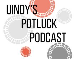 UIndy's Potluck Podcast Icon
