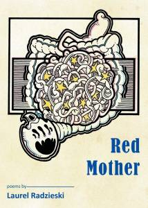 cover of Red Mother shows an illustration of a parasite